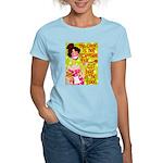 Cat Hair Women's Pink T-Shirt
