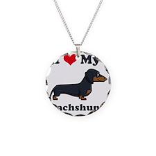 SS_I-Love-My-Dachshund-carto Necklace