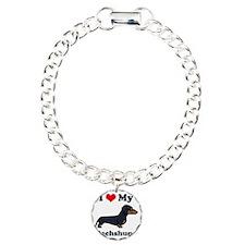 SS_I-Love-My-Dachshund-c Bracelet