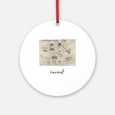 Invent Round Ornament