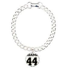 Obama 44 Charm Bracelet, One Charm
