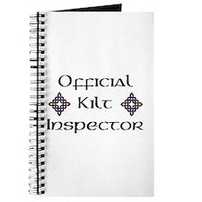 Kilt Inspector Journal