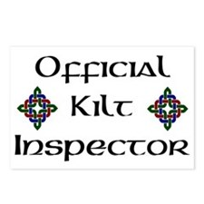Kilt Inspector Postcards (Package of 8)