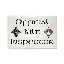Kilt Inspector Rectangle Magnet