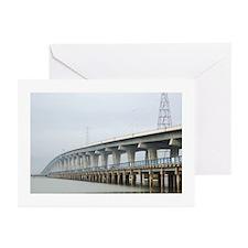 Dumbarton Bridge Greeting Cards (Pk of 10)