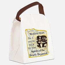 MediumTalkToDead_Shirt Canvas Lunch Bag