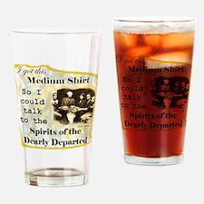 MediumTalkToDead_Shirt Drinking Glass