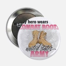"Combat boots Army 2.25"" Button"