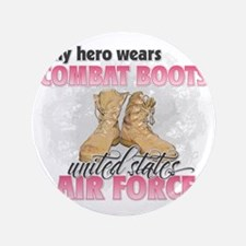"""Combat boots Air Force 3.5"""" Button"""