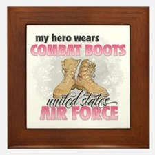 Combat boots Air Force Framed Tile