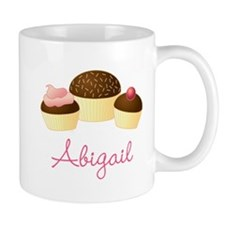 Personalized Chocolate Cupcake Mugs