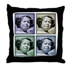 qq_final Throw Pillow