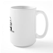 65 Mustang_Back_Blk Mug
