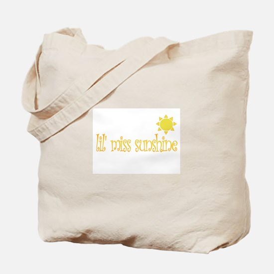 lil' miss sunshine Tote Bag
