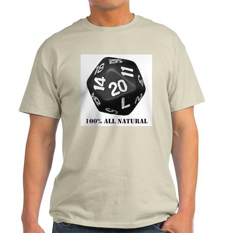 D20 Ash Grey T-Shirt