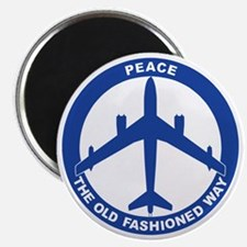 2-Peace The Old Fashioned Way - B-47 Magnet