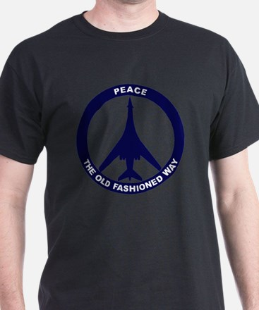 Peace The Old Fashioned Way - B-1B Bl T-Shirt