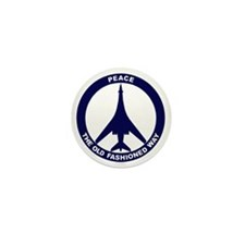 Peace The Old Fashioned Way - B-1B Blu Mini Button