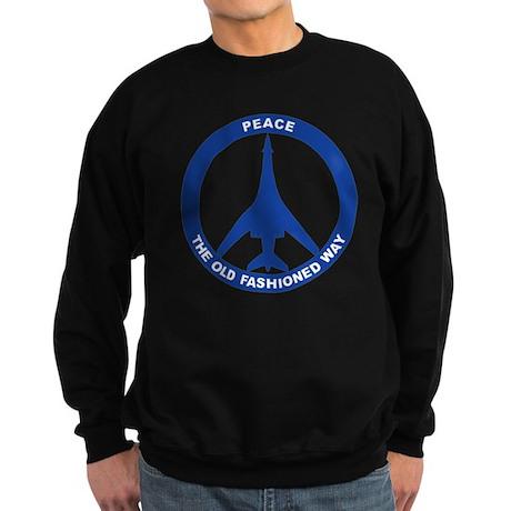2-Peace The Old Fashioned Way - Sweatshirt (dark)