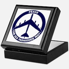 Peace The Old Fashioned Way - B-52G B Keepsake Box