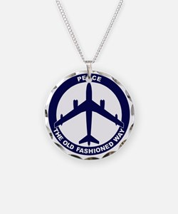 Peace The Old Fashioned Way  Necklace