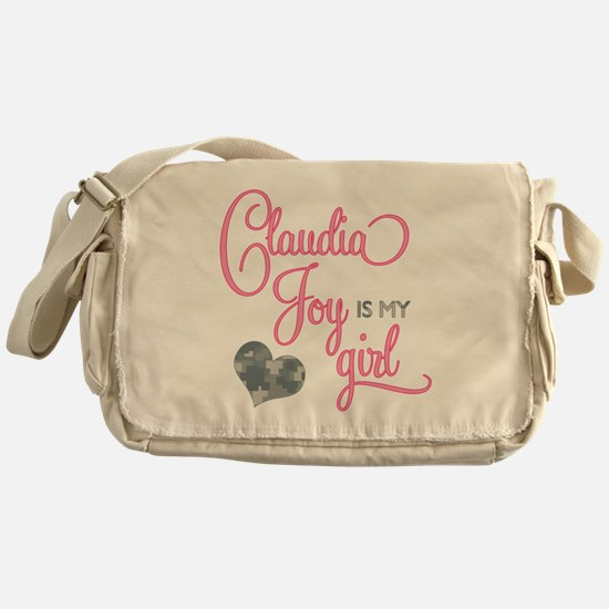 RoxyisMyGirl_ClaudiaJoy Messenger Bag