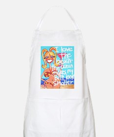 Beach Butt BBQ Apron