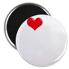 I-Love-My-Borzoi-dark Magnet