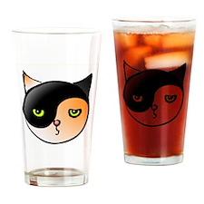 Yinyangcat3 Kopie2 Drinking Glass