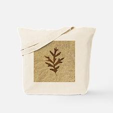 featherLobeOak Tote Bag