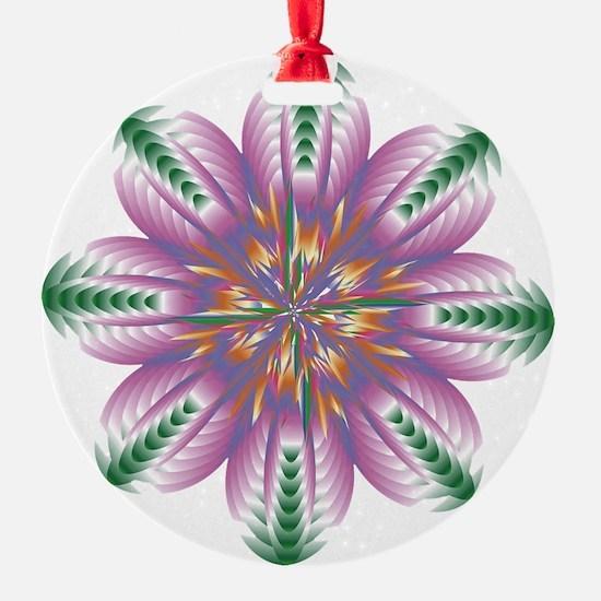 FLOWERS-1 copy Ornament