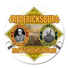 Fredericksburg (battle)1 Round Car Magnet