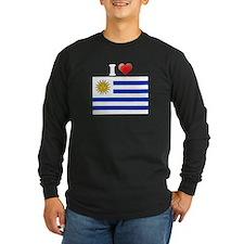 I love Uruguay Flag T
