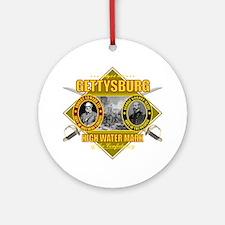 Gettysburg (battle) Round Ornament