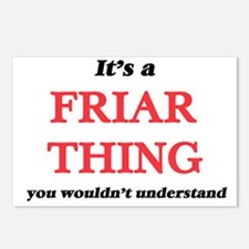 It's and Friar thing, Postcards (Package of 8)