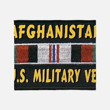 AFGHANISTAN VET Throw Blanket