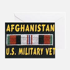 AFGHANISTAN VET Greeting Card