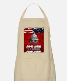 23x35 GOVERNEMNT IS THE PROBLEM 02 Apron