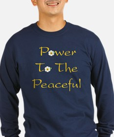 Power To The Peaceful T