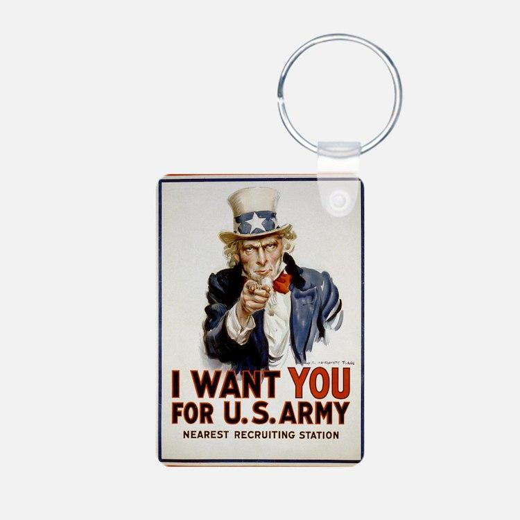 WWIIuncleSam Keychains