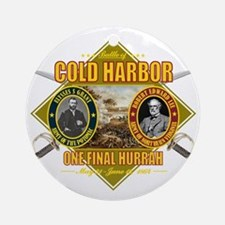 Cold Harbor (battle)1 Round Ornament