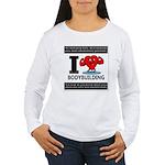 I Love Bodybuilding Long Sleeve T-Shirt