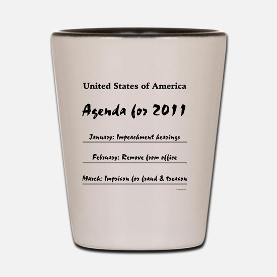agenda2011 Shot Glass