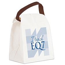 2-ITeachEQ Canvas Lunch Bag