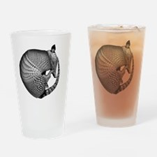 2-armadillo Drinking Glass