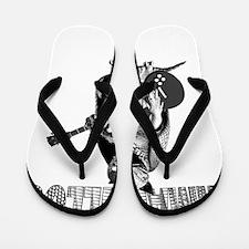 armadillosrock_blk Flip Flops