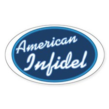 American Infidel Decal