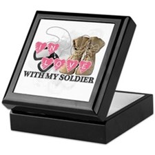 In love Soldier Keepsake Box