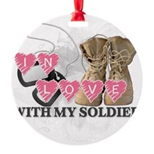 In love Soldier Ornament