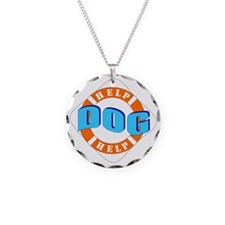 Help Dog Help w/Line Necklace
